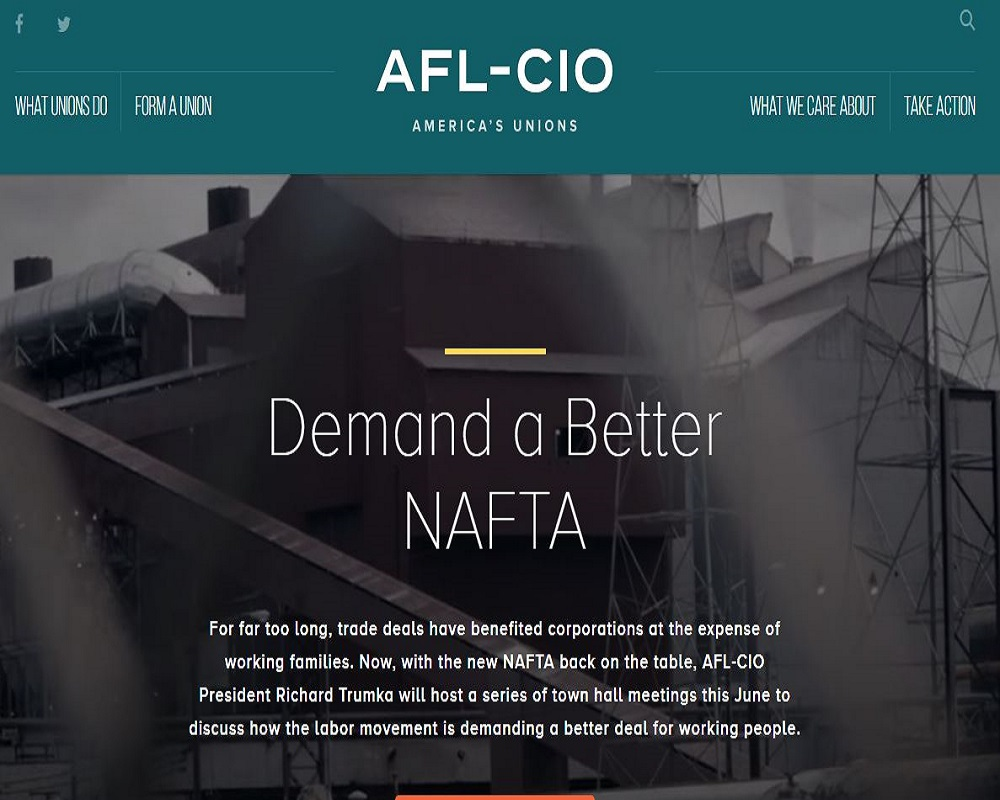 National AFL-CIO website